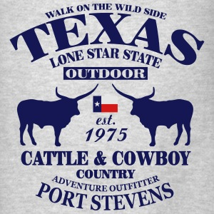 Texas Bull - The Lone Star State Hoodies - Men's T-Shirt