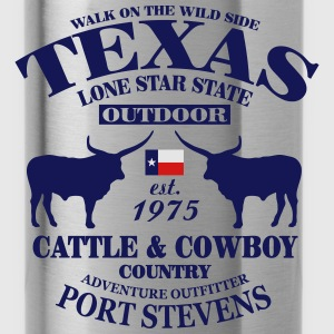 Texas Bull - The Lone Star State Hoodies - Water Bottle