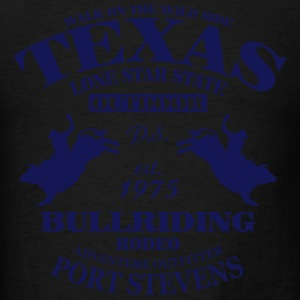 Texas Bullriding Rodeo - The Lone Star State Hoodies - Men's T-Shirt