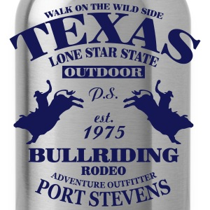 Texas Bullriding Rodeo - The Lone Star State Hoodies - Water Bottle
