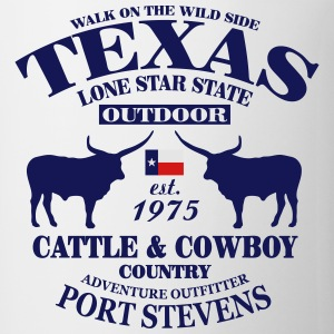 Texas Bull - The Lone Star State T-Shirts - Coffee/Tea Mug