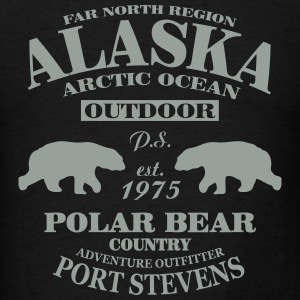 Alaska -  Polar Bear Country Hoodies - Men's T-Shirt