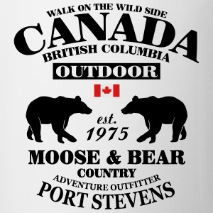 British Columbia - Canadian Wilderness T-Shirts - Coffee/Tea Mug