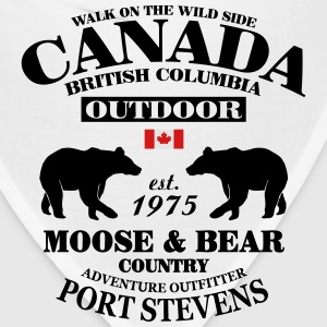 British Columbia - Canadian Wilderness T-Shirts - Bandana