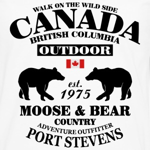 British Columbia - Canadian Wilderness T-Shirts - Men's Premium Long Sleeve T-Shirt