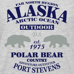 Alaska -  Polar Bear Country Hoodies - Men's Premium Long Sleeve T-Shirt