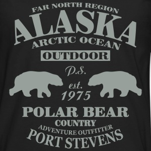 Alaska -  Polar Bear Country T-Shirts - Men's Premium Long Sleeve T-Shirt