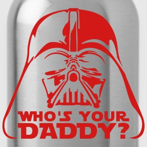 who's your daddy vader T-Shirts - Water Bottle
