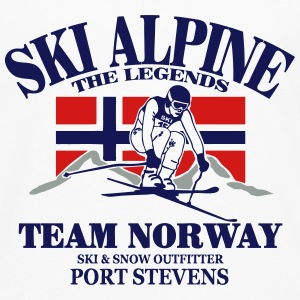 Norway Ski Alpine  Tanks - Men's Premium Long Sleeve T-Shirt