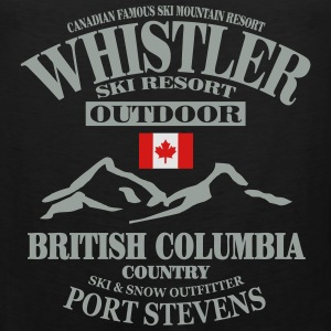 Whistler - Canada Ski Resort T-Shirts - Men's Premium Tank