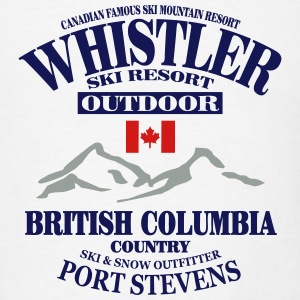 Whistler - Canada Ski Resort Hoodies - Men's T-Shirt