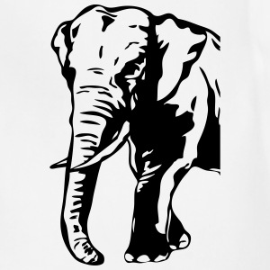 African Elephant  T-Shirts - Adjustable Apron