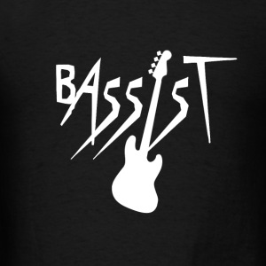 Bassist - Bass Guitar Player Hoodies - Men's T-Shirt