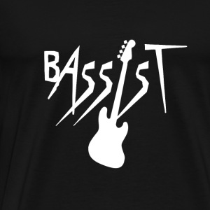 Bassist - Bass Guitar Player Hoodies - Men's Premium T-Shirt