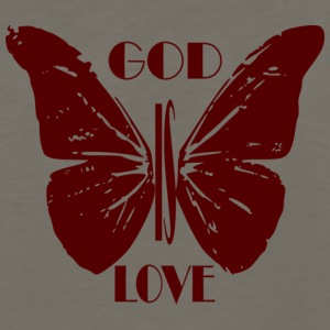 God is Love - Men's Premium Long Sleeve T-Shirt