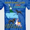 Newfoundland and Labrador dogs - Unisex Tie Dye T-Shirt