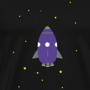 Purple rocket Tank Tops - Men's Premium T-Shirt
