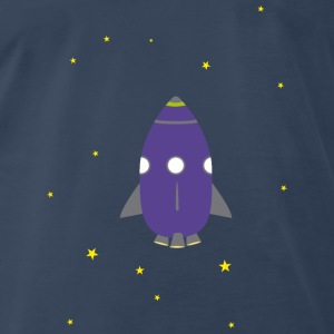Purple rocket Tanks - Men's Premium T-Shirt