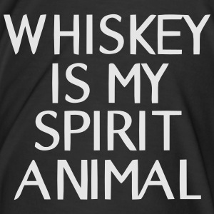 WHISKEY IN MY SPIRIT ANIMAL Pantalons - T-shirt premium pour hommes