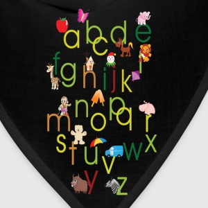 Kids Graphic ABC's Baby & Toddler Shirts - Bandana