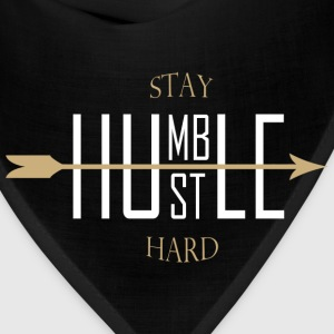 stay humble - hustle hard Long Sleeve Shirts - Bandana