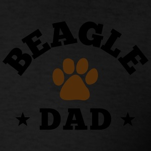 Beagle Dad Zip Hoodies & Jackets - Men's T-Shirt