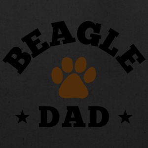 Beagle Dad Zip Hoodies & Jackets - Eco-Friendly Cotton Tote
