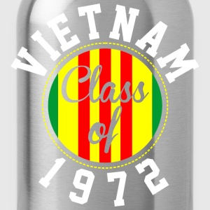 Vietnam Class Of 1972  - Water Bottle