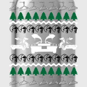 Back to the Future Ugly Christmas Sweater T-Shirts - Water Bottle