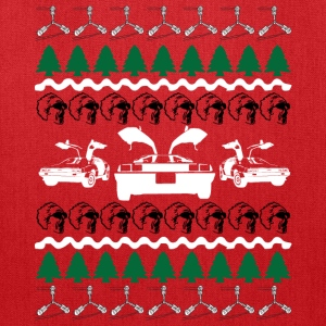Back to the Future Ugly Christmas Sweater T-Shirts - Tote Bag
