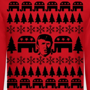 GOP Donald Christmas Sweater T-Shirts - Crewneck Sweatshirt