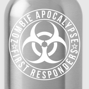 Zombie Apocalypse First Responders - Water Bottle