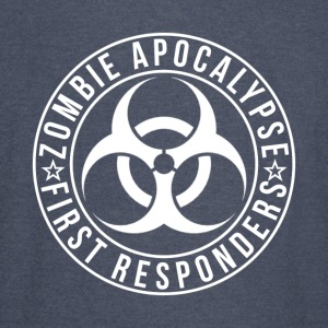 Zombie Apocalypse First Responders - Vintage Sport T-Shirt