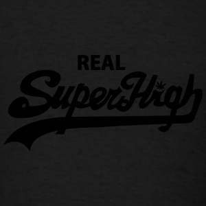 Real SuperHigh Beanie Black - Men's T-Shirt