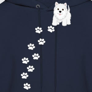 Westie Puppy Dog T-Shirt - Men's Hoodie