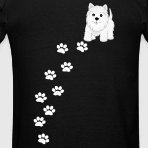 Westie Puppy Dog Hoodie - Men's T-Shirt