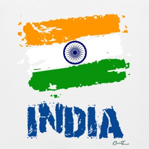 India Flag Women's T-Shirts - Men's Premium Tank