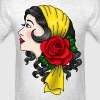 Gypsy Woman in American Traditional Style T-Shirt - Men's T-Shirt