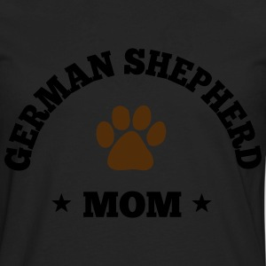 German Shepherd Mom Women's T-Shirts - Men's Premium Long Sleeve T-Shirt