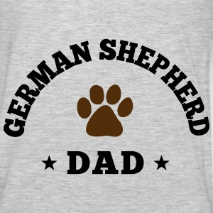 German Shepherd Dad Hoodies - Men's Premium Long Sleeve T-Shirt