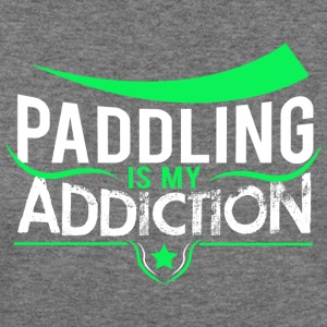 Paddling Addiction Women's T-Shirts - Women's Wideneck Sweatshirt