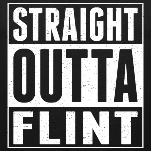 Straight Outta Flint - Men's Premium Tank