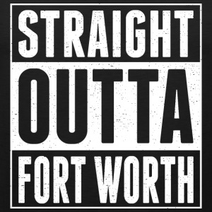 Straight Outta Fort Worth - Men's Premium Tank