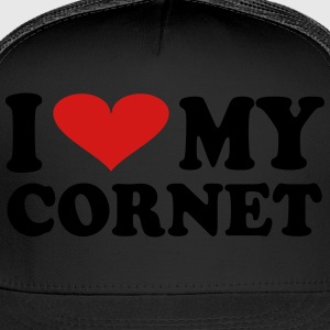 I Love My Cornet - Trucker Cap