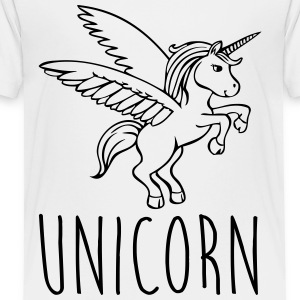 Unicorn Kids' Shirts - Toddler Premium T-Shirt