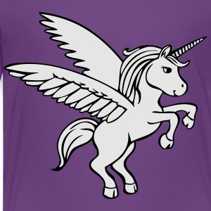 Unicorn Horse Kids' Shirts - Toddler Premium T-Shirt