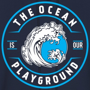 ocean is our playground T-Shirts - Men's Hoodie