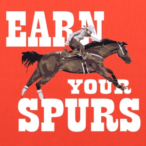 Earn Your Spurs Women's T-Shirts - Tote Bag