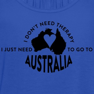 I just need to go to Australia T-Shirts - Women's Flowy Tank Top by Bella
