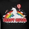 Heavy Metal (Unicorn and Rainbow) T-Shirts - Men's T-Shirt